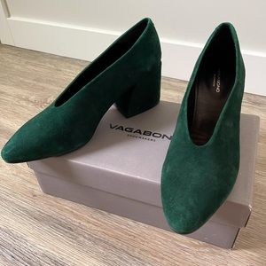Vagabond shoemakers suede heels